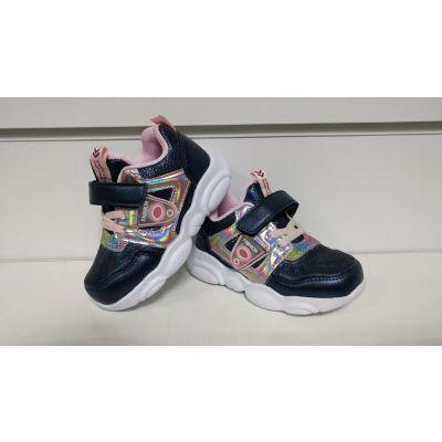 Кроссовки светящиеся H3329-5 синие ТМ Kids sports