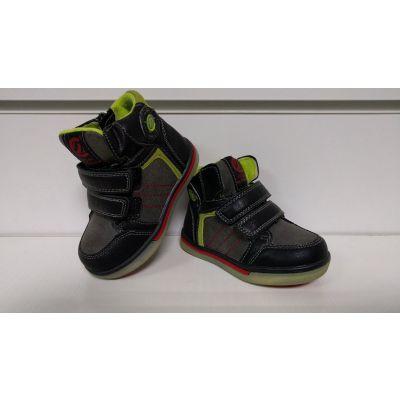 Ботинки серо-зеленые P132 ТМ Clibee