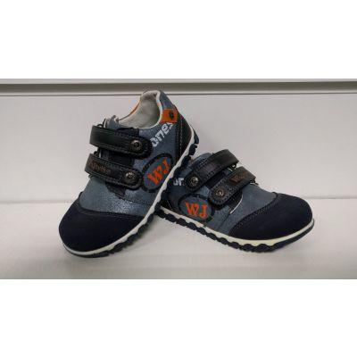 Ботинки А1066 голубые ТМ Wojtylko