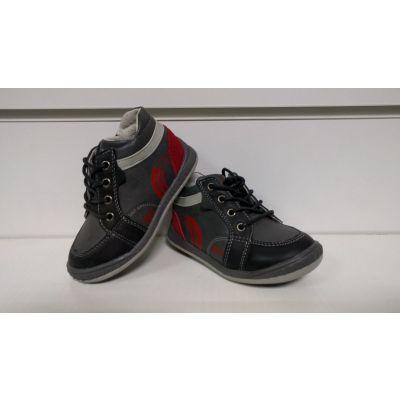 Ботинки 2А1086 черные Польша