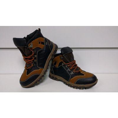 Ботинки P353 коричневые ТМ Clibee