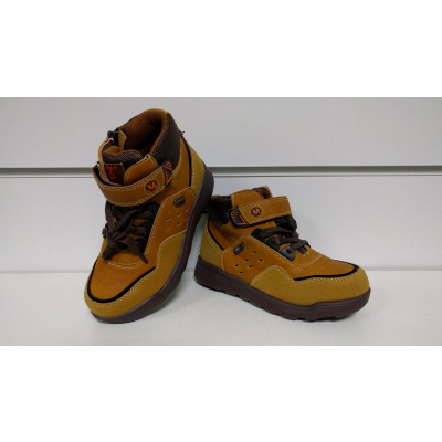 Ботинки P300 коричневые ТМ Clibee