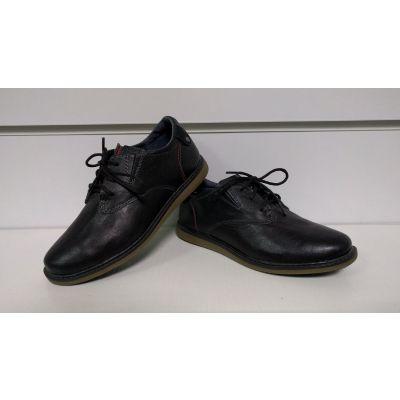 Туфли NF черные напл.шнурки ТМ MAXUS