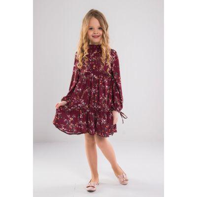 Платье 30002 Беатрис вишневое ТМ Suzie