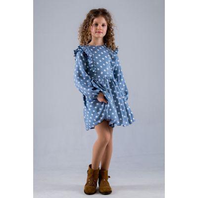 Платье 20013 Виталина голубое ТМ Suzie