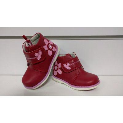 Ботинки 127 красные ТМ Clibee