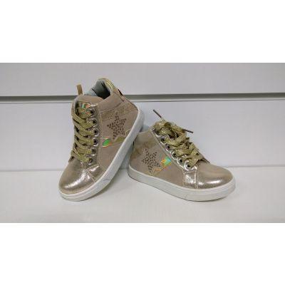 Ботинки 286 золото ТМ Clibee
