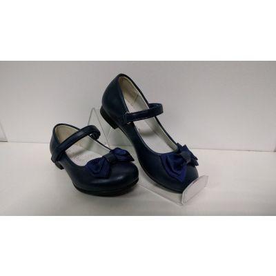 Туфли для девочки синие D94 Clibee