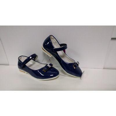 Нарядные туфли для девочки blue SB86-3
