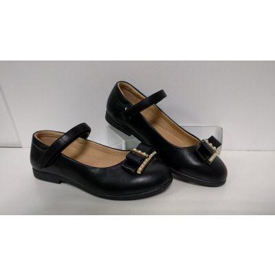 Туфли для девочки черные 209034117 Сказка