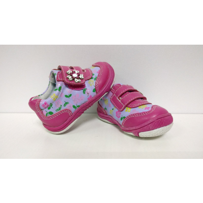 Туфли кроссовки малиновые для девочки 18-14В