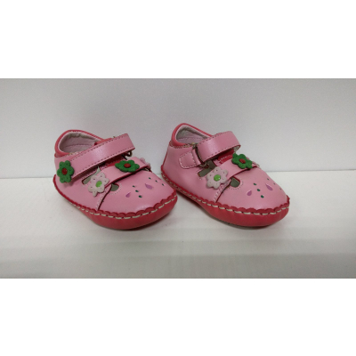 Пинетки для девочки розовые BB-2, Польша