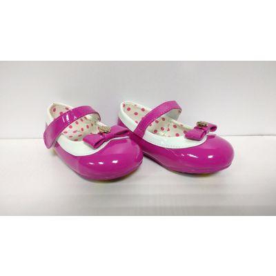 Туфельки для девочки малиновые 1424, ТМ Buddy Dog