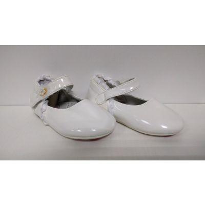 Туфельки для девочки белые 12-42 , Польша