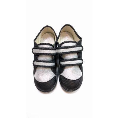 Туфли текстильные Саша серебро 3640 ТМ Waldi