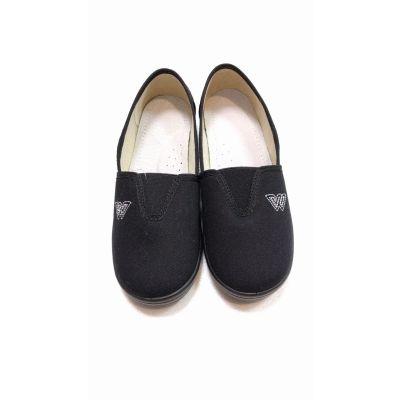 Туфли текстильные W 51-495 черные ТМ Waldi