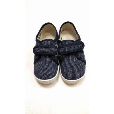 Туфли текстильные Саша синие ТМ Waldi