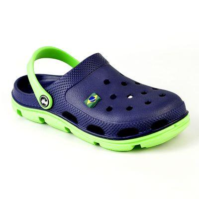 Кроксы сине-зелёные 116213 Jose Amorales