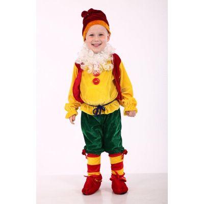Карнавальный костюм для мальчика Гном №1