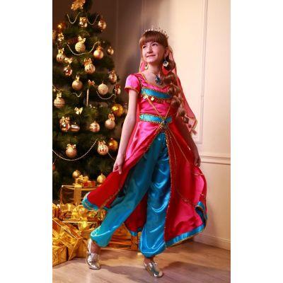 Карнавальный костюм для девочки Принцесса Жасмин (восточный костюм)