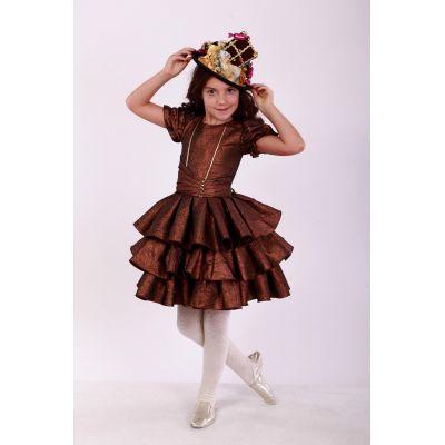 Карнавальный костюм для девочки Шоколадка, Смаколики ТМ Sonechko