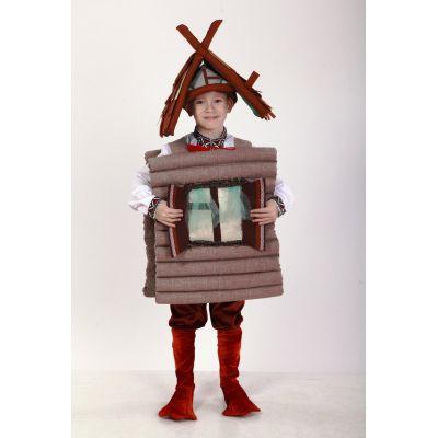 Карнавальный костюм детский Избушка на курьих ножках ТМ Sonechko