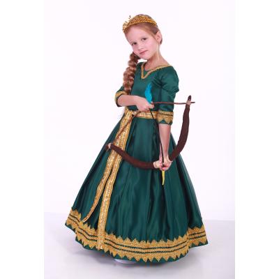 Карнавальный костюм для девочки Мерида Стиль
