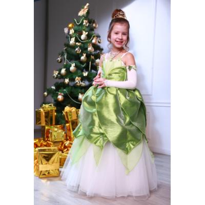 Карнавальный костюм для девочки Принцесса Тиана