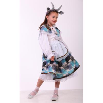 Карнавальный костюм для девочки Мама Коза, Козочка прокат