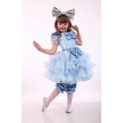 Карнавальный костюм для девочки Мальвина Премиум