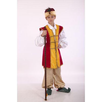 Карнавальный костюм для мальчика восточный Джафар (султан)