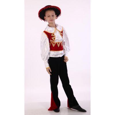 Карнавальный костюм для мальчика испанец Трубадур