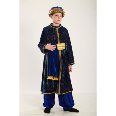 Карнавальный костюм для мальчика Султан, Мудрец, Восточный принц
