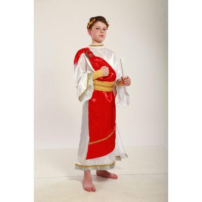 Карнавальный костюм для мальчика Император, Юлий Цезарь, Римский царь