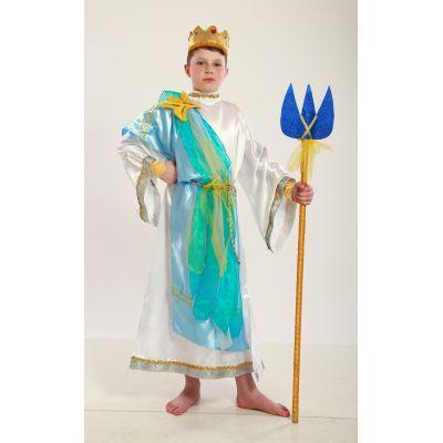 Карнавальный костюм для мальчика Нептун, Посейдон, Морской Бог