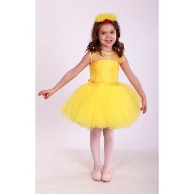 Карнавальный костюм детский Цыпленок девочка