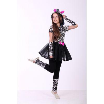 Карнавальный костюм для девочки Зебра