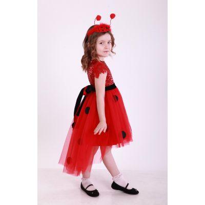Карнавальный костюм для девочки Божья Коровка Стиль
