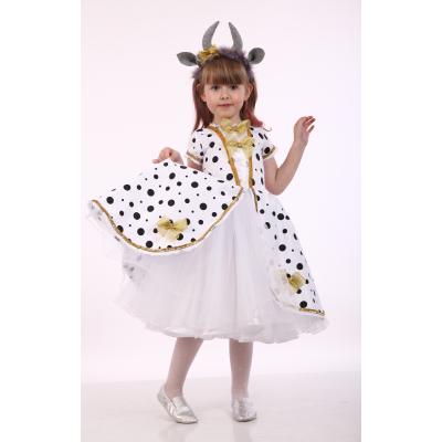 Карнавальный костюм для девочки Коровка стиль