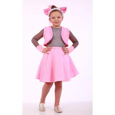 Карнавальный костюм для девочки Свинка комплект