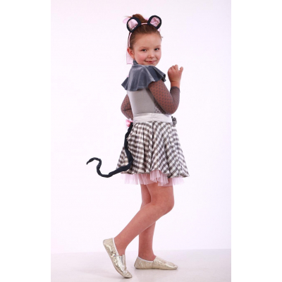 Карнавальный костюм для девочки Мышка комплект