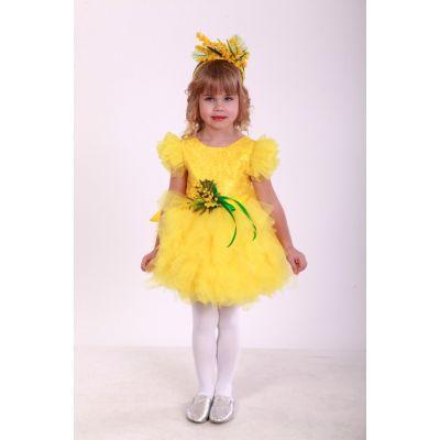 Карнавальный костюм для девочки Мимоза Весна