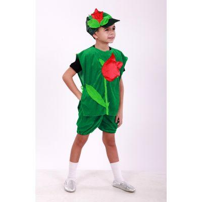 Карнавальный костюм для мальчика Тюльпан