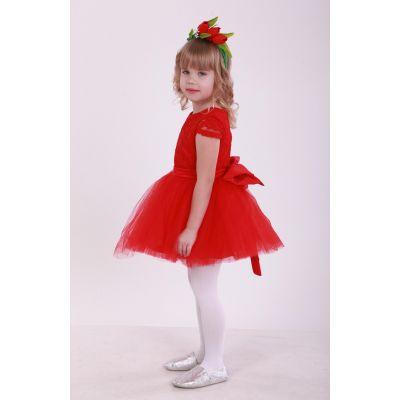 Карнавальный костюм для девочки Цветочек Тюльпан