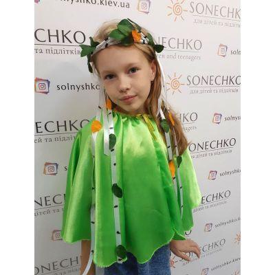 Карнавальный костюм для девочки Обруч Березка