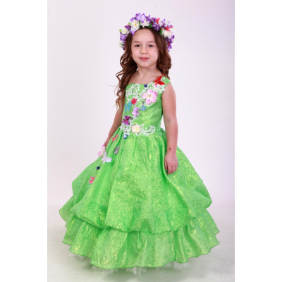 Карнавальный костюм для девочки Весна Тиффани