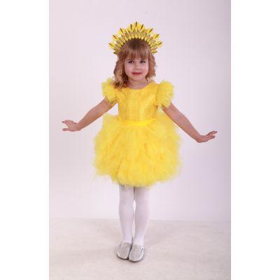 Карнавальный костюм для девочки Солнышко 9742