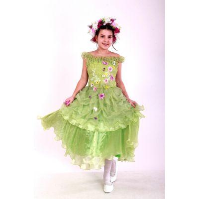 Карнавальный костюм для девочки Весна Жатка