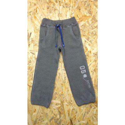 Спортивные брюки  утеплённые 11-7402 серые ТМ Веселка