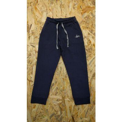 Спортивные брюки для мальчика 740-325 т.синие ТМ Фламинго